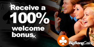 Receive the 100% welcome bonus